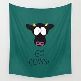Go Cows Poster Wall Tapestry
