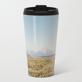 Grand Teton Landscape Travel Mug