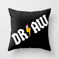 DR/AW Throw Pillow