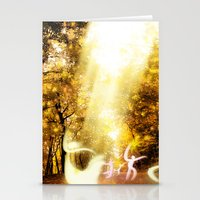 fairies Stationery Cards featuring Dancing Fairies by Kristofferson Brice