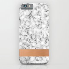 Marble and copper Slim Case iPhone 6