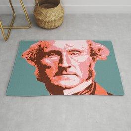 John Stuart Mill Rug