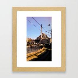 The last mosque. Framed Art Print