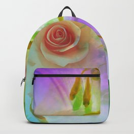 Rose And Goldfish Backpack