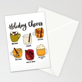 Holiday Cheers Stationery Cards