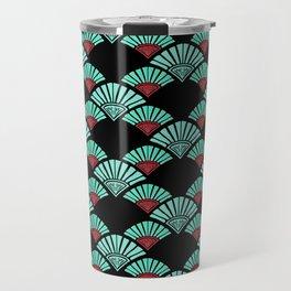 Turquoise Night Travel Mug