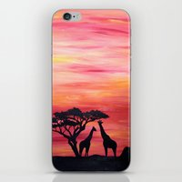 africa iPhone & iPod Skins featuring Africa by Monica Georg-Buller