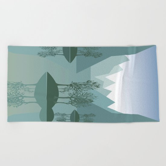 My Nature Collection No. 45 Beach Towel