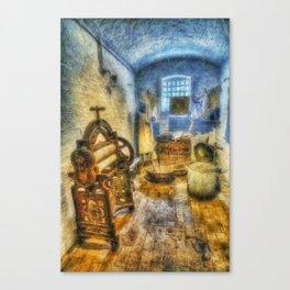 Olde Victorian Washroom Canvas Print