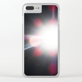 Total Eclipsy Eclipse 3 - 2017 Clear iPhone Case