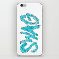 swag iPhone & iPod Skins featuring Swag by Creo