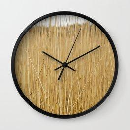 Montauk Sand Dune Plants Wall Clock