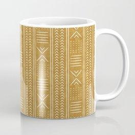 mustard mud cloth - arrow cross Coffee Mug