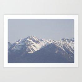Mountain along the Coquihalla 2 Art Print