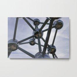 The Atomium  Metal Print