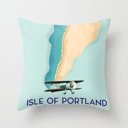 Isle Of Portland,Dorset, England Throw Pillow