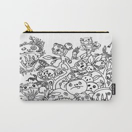 Surreal Landscape with bizarre creatures Carry-All Pouch