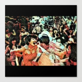 Societal Angst: The Keening of the Banshees Canvas Print
