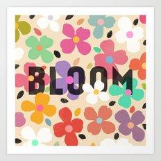 Bloom by Galaxy Eyes & Garima Dhawan Art Print