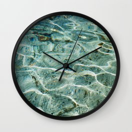 Silver Glen Springs, No. 2 Wall Clock