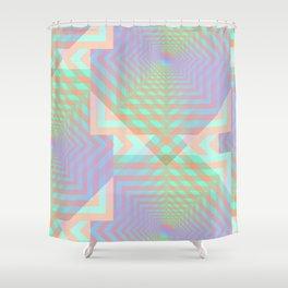 21 E=Codes1 Shower Curtain