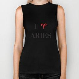 I heart Aries Biker Tank