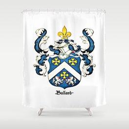 Family Crest - Bullard - Coat of Arms Shower Curtain