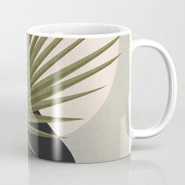 Tropical Leaf- Abstract Art 5 Coffee Mug