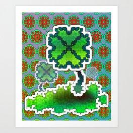 Clover Field Art Print