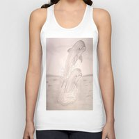 dolphins Tank Tops featuring Dolphins by Shahadjef