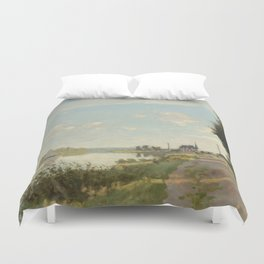 Argenteuil by Claude Monet Duvet Cover