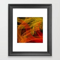 Warm Color Collab Framed Art Print