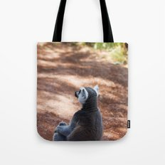 Lemur Catta III Tote Bag