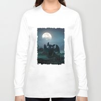 daenerys Long Sleeve T-shirts featuring TOOTHLESS halloween by kattie flynn