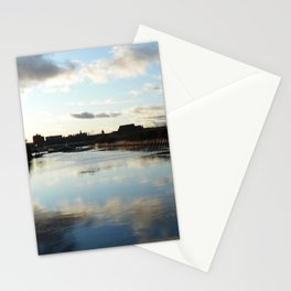 Scottish Photography Series (Vectorized) - Where the Kelvin Meets the Clyde Stationery Cards