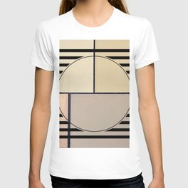 Toned Down - line graphic T-shirt