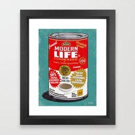Canned Life Framed Art Print