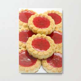 High calorie food Metal Print