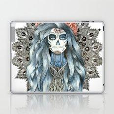 Day of the Dead Woman Mandala Laptop & iPad Skin