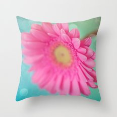 Pink is my new obsession  Throw Pillow