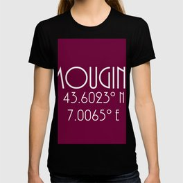 Mougins Latitude Longitude T-shirt