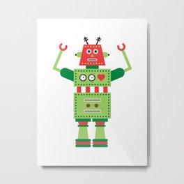 a humanoid 5 Metal Print