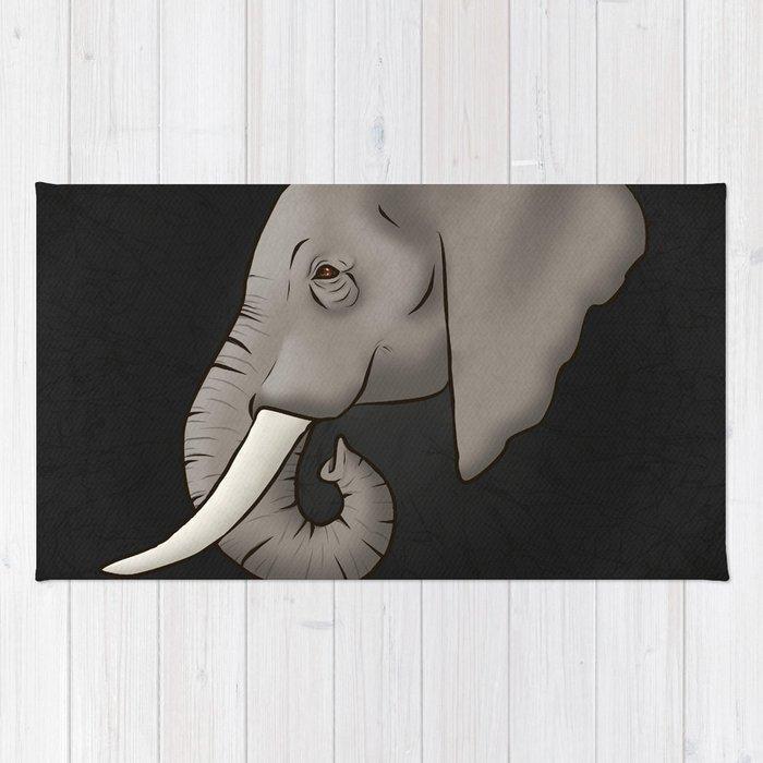 Elephant Ivory Rug