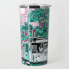 san francisco city skyline Travel Mug