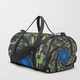 Fantasy color spiral Duffle Bag