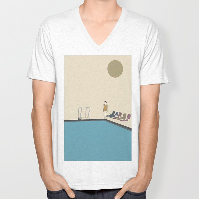 Swimming Unisex V-Neck