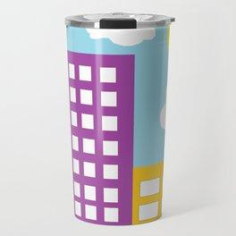Microsoft Paint City Travel Mug