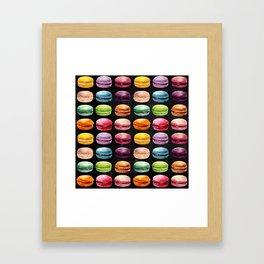 Macaron Framed Art Print