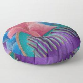 Mulan Flower Floor Pillow