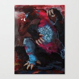 Dragon no.1 Canvas Print